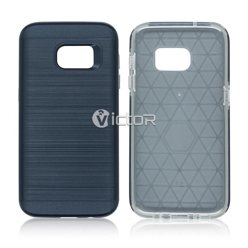 Caso Victor VI-CASO-X10272 TPU + PC para Samsung S7 borde