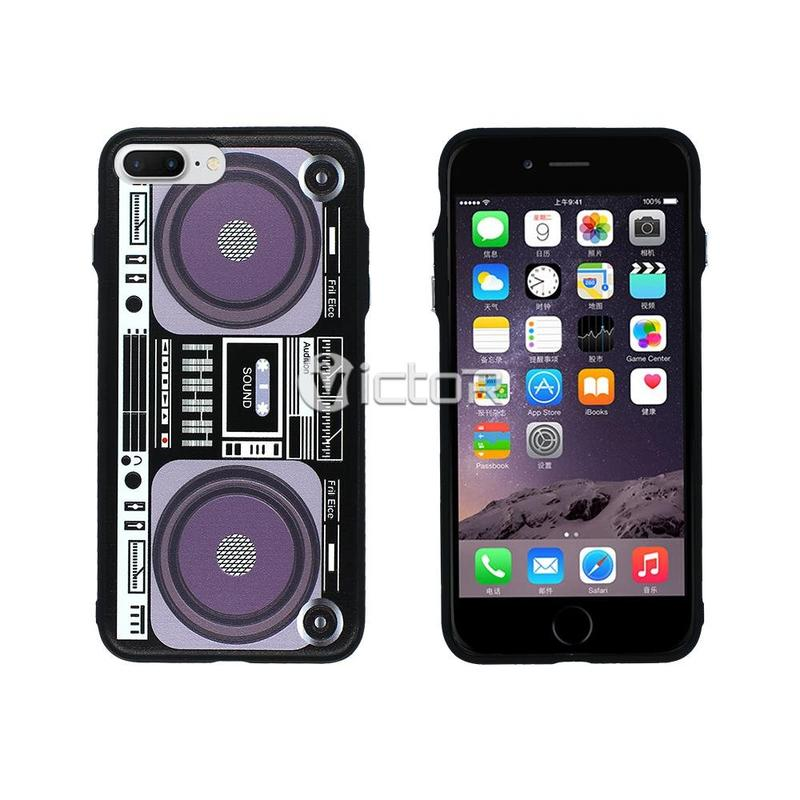 Victor VI-CASO-016 TPU + PC moda diseño impresión caso iPhone 7 Plus