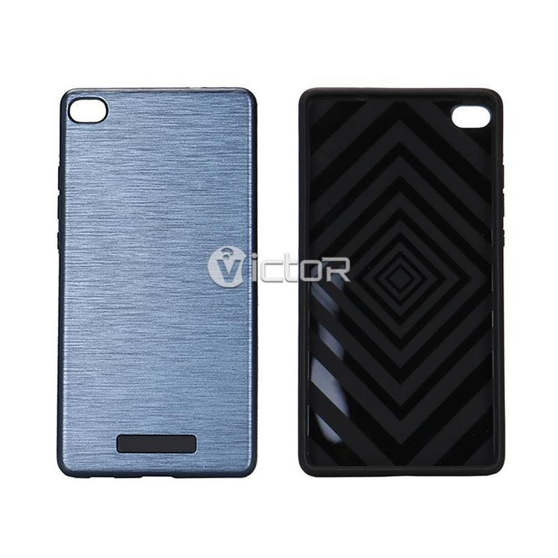 Victor VI-TPUPC-K050 PC nuevo diseño láser Combo TPU para Huawei P8