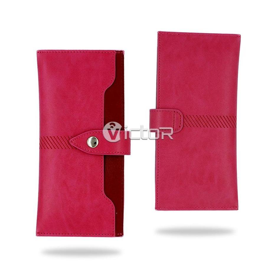 Victor VI-LC-K036 Cartera de cuero universal para 4 '' 4.5 '' 5 '' 5.5 '' teléfonos móviles