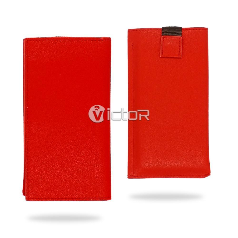 Victor VI-LC-K037 diapositiva Universal PU estuche de cuero para celular