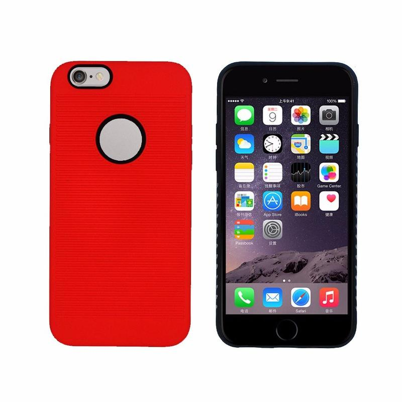 Víctor diseño simple caso híbrido para el iPhone 6s para la venta