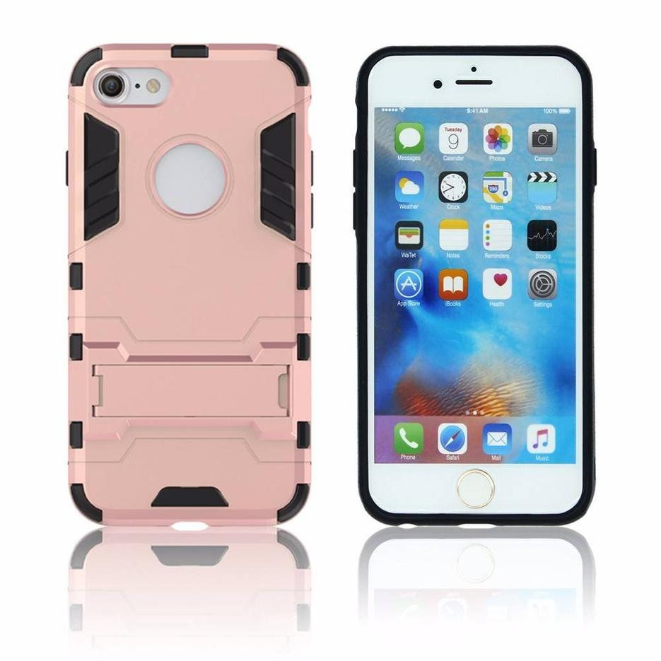 Victor TPU PC 3in1 Iron Combo Case with Kickstand for iPhone 7