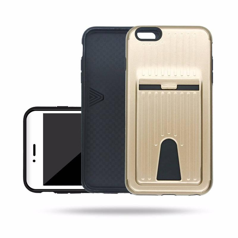 Victor TPU+PC Fashion Card Solt Mobile Case for iPhone 6s Plus