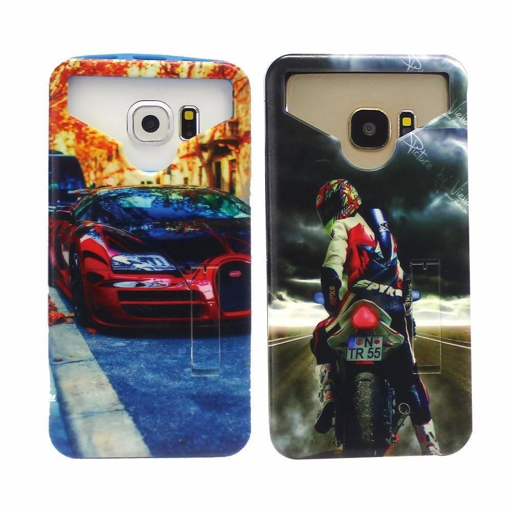 Universal Silicone Phone Case with PC Back Cover