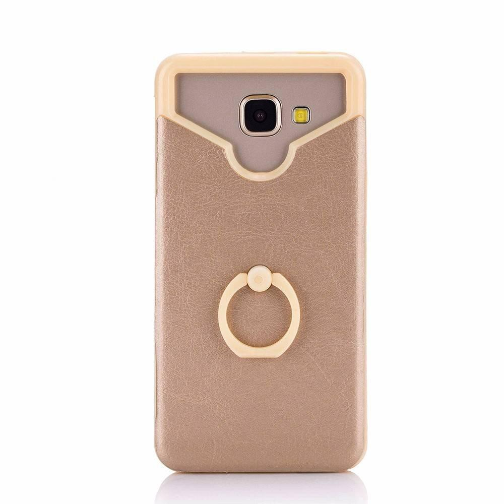 Universal Smartphone Silicone Cases Pasted with Leather