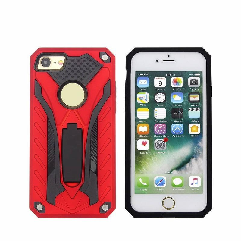 Highly Protective iPhone 7 Armor Case with Stand