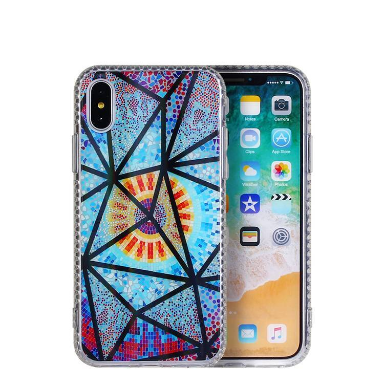 Estuche de pintura en color acrílico para IPHONE X