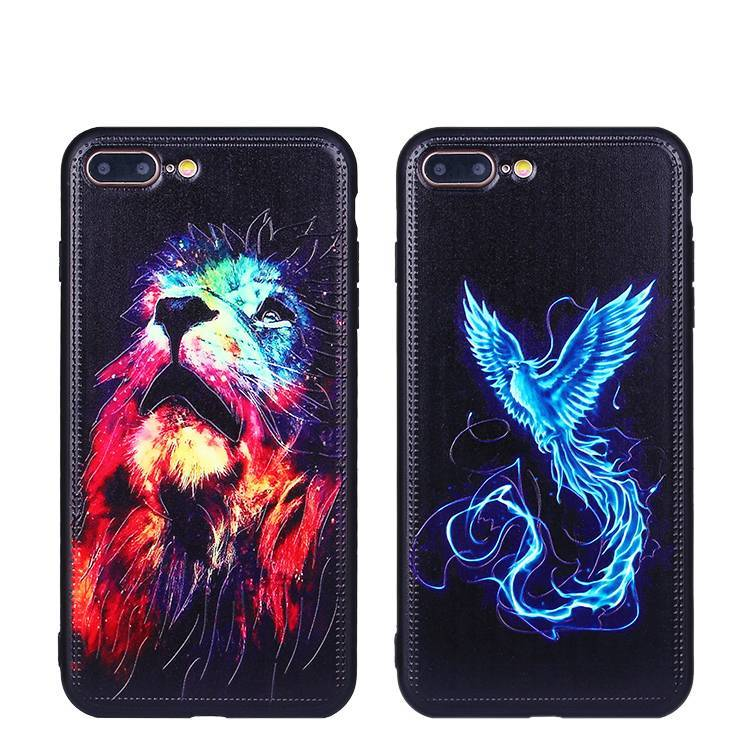 Luminous Color Painting Case for iPhone 7 Plus