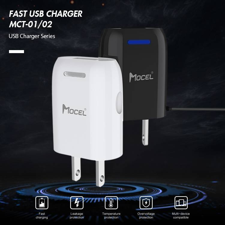Mocel Fast USB Charger with Cable