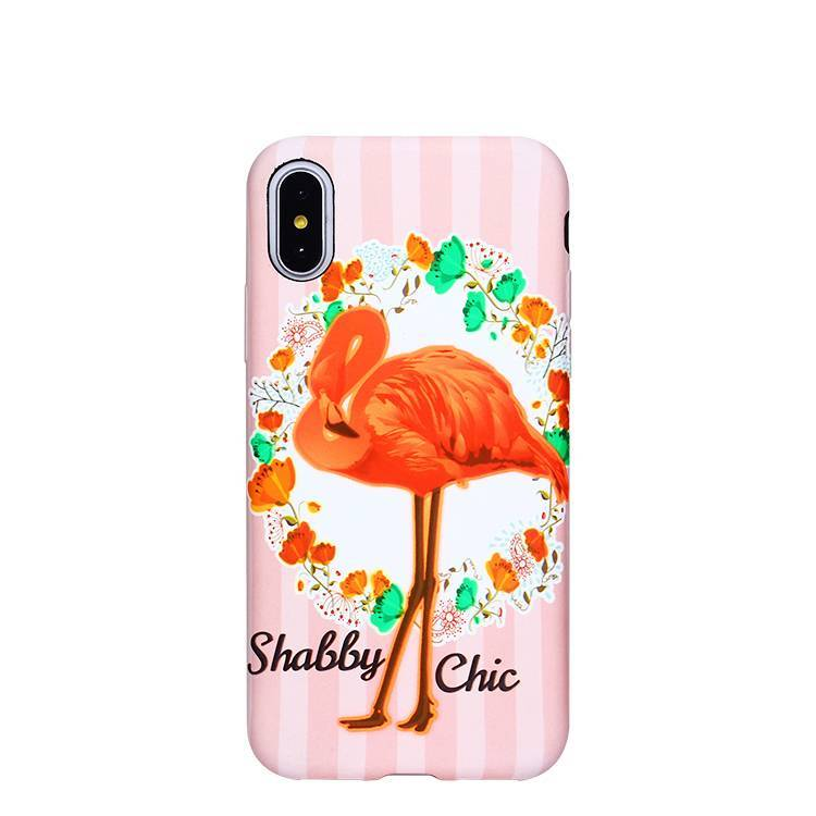 Soft Printing Custom TPU Phone Case for iPhone XS