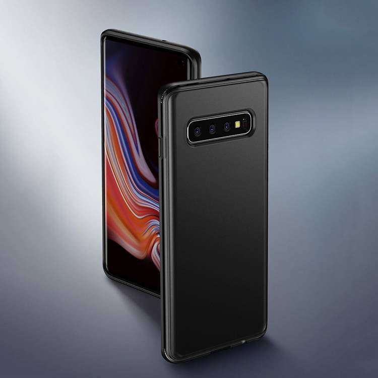 Shockproof Translucent Frosted Case for Samsung Galaxy S10 Back Cover
