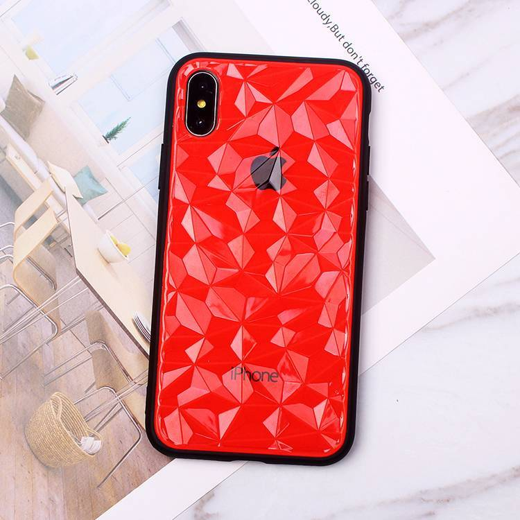 Bling Bling Diamond Grain Shockproof Phone Case for iPhone XS XR