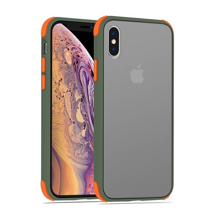 Scratch Resistance Frosted Clear Case Cover for iPhone XS