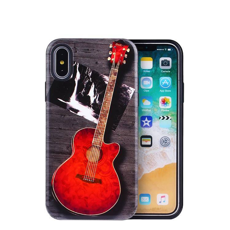Caja de teléfono grabada con láser para iPhone X