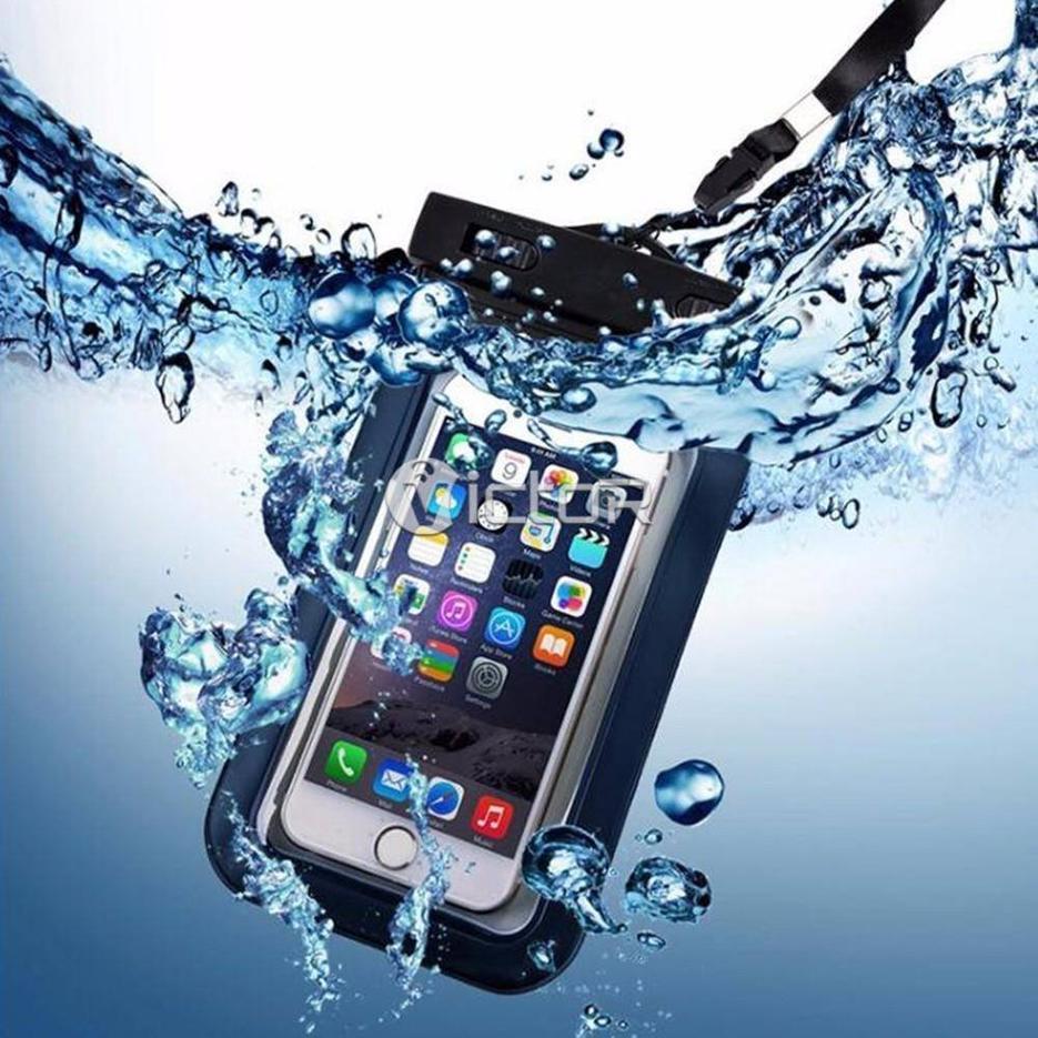 Victor impermeable PVC teléfono móvil bolsas
