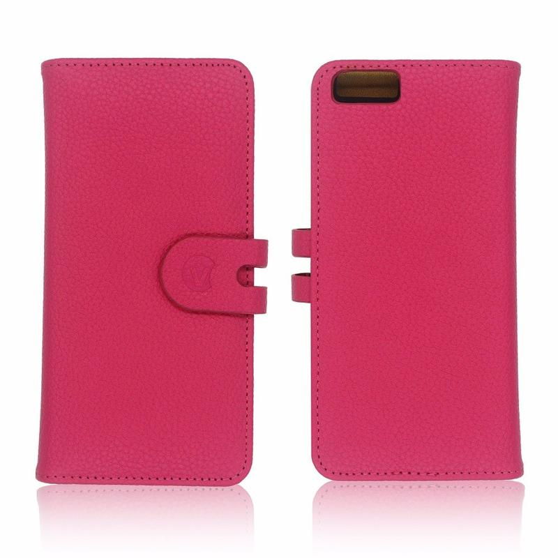 Victor Wallet Shape Custom Leather Case for iPhone 6 Plus