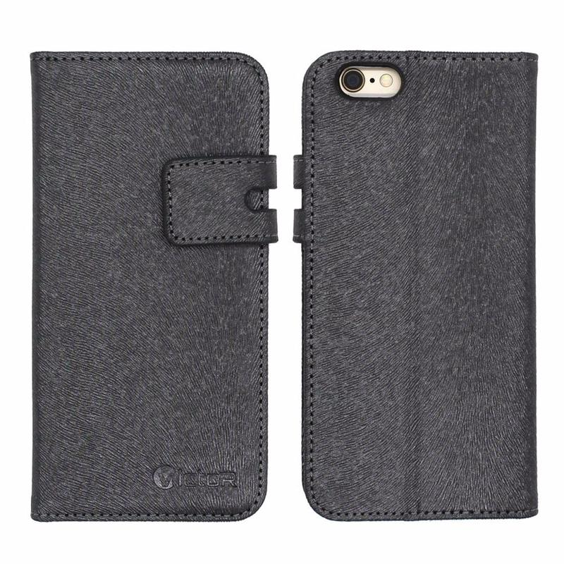 Victor PU Flip Cell Phone Leather Cases for iPhone 6s