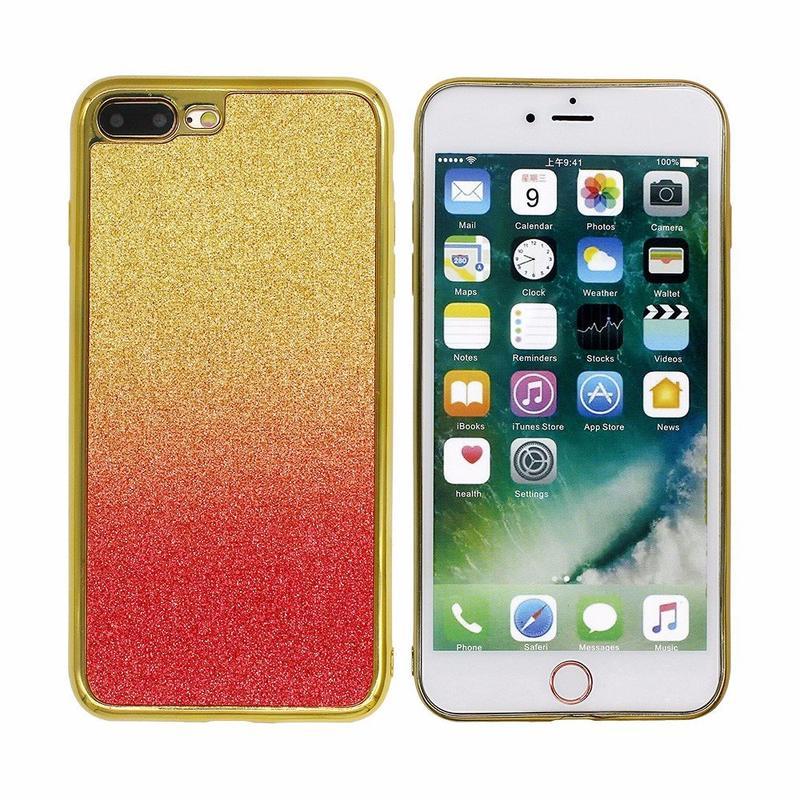Gradient Color Paste funda de cuero para iPhone 7 Plus