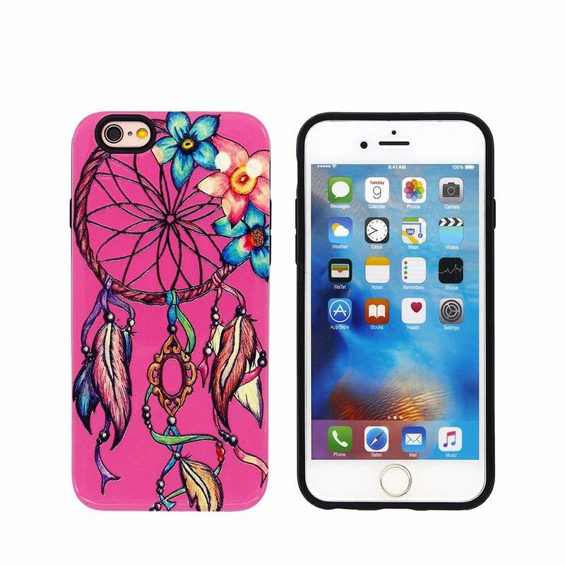 Dream Catcher Theme 2in1 TPU Funda protectora para el iPhone 6