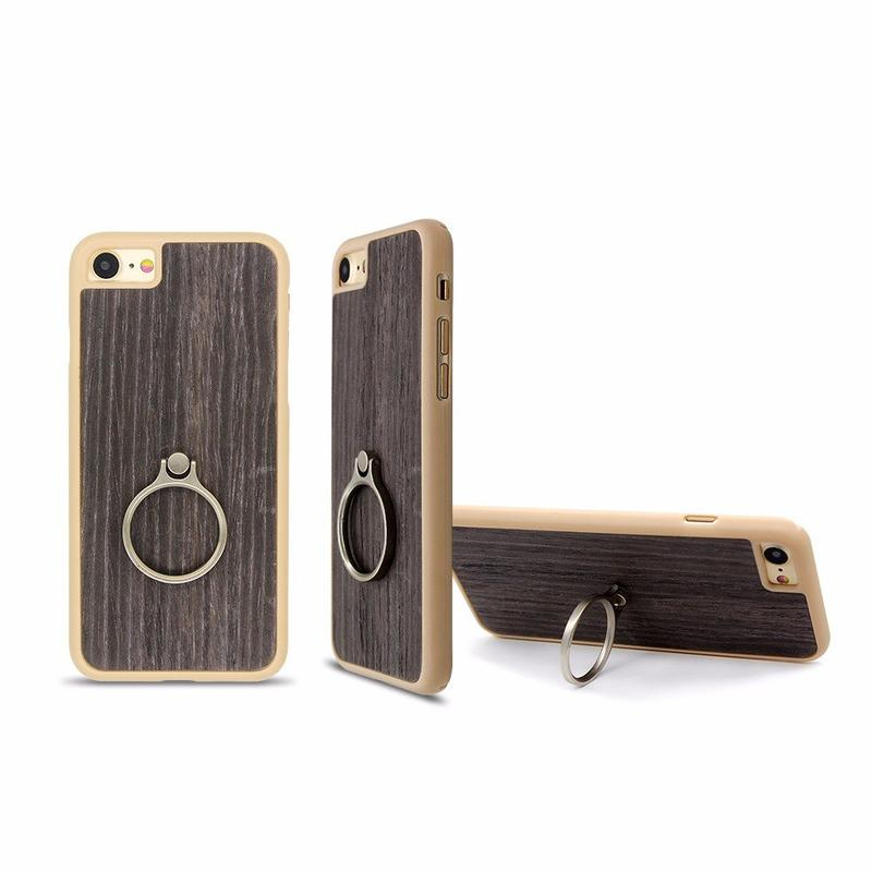 Paste Real Wood iPhone 7 Case with Ring