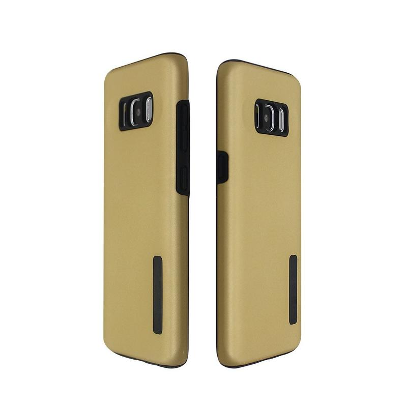 Rubberized PC Cover TPU Case for Samsung S8
