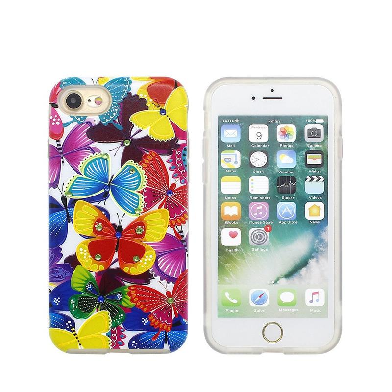 Colorful Stealth Stand TPU Combo Case for iPhone 7