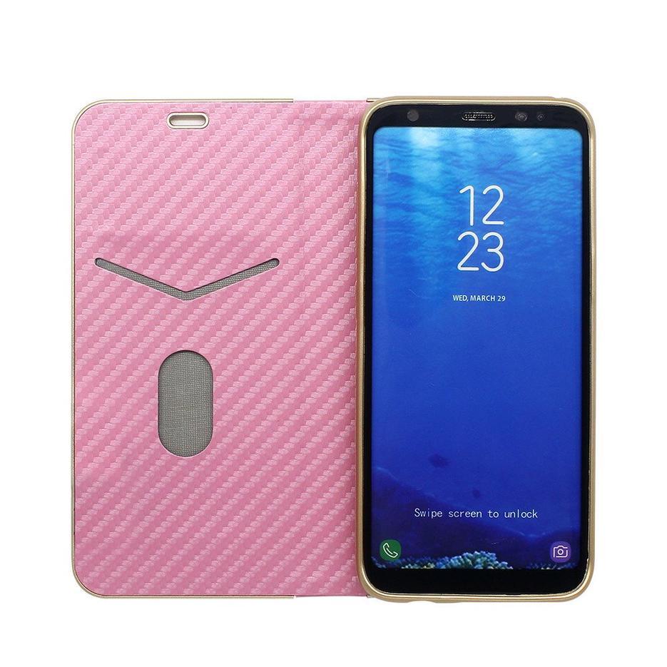 TPU dentro de la funda de cuero para Samsung S8