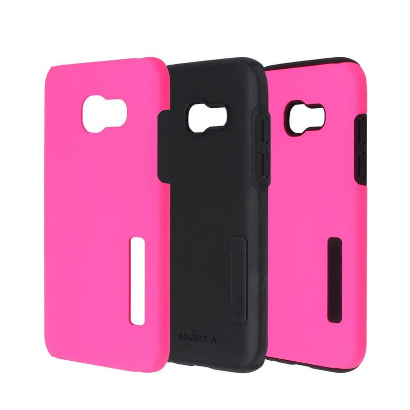 Rubberized Protective Combo Case for Samsung A3 2017