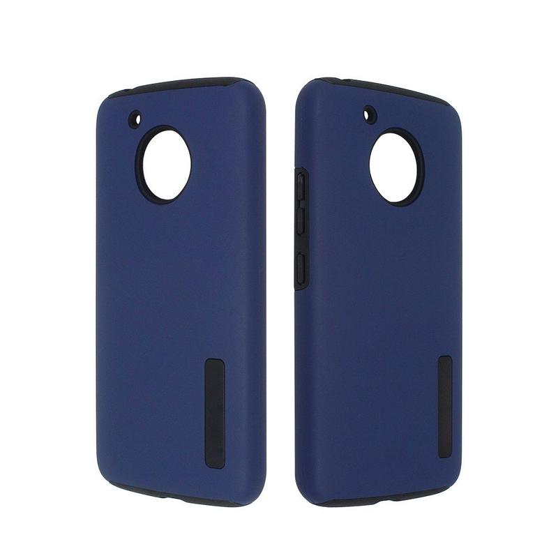 Rubberized Moto G5 Protector Combo Phone Case