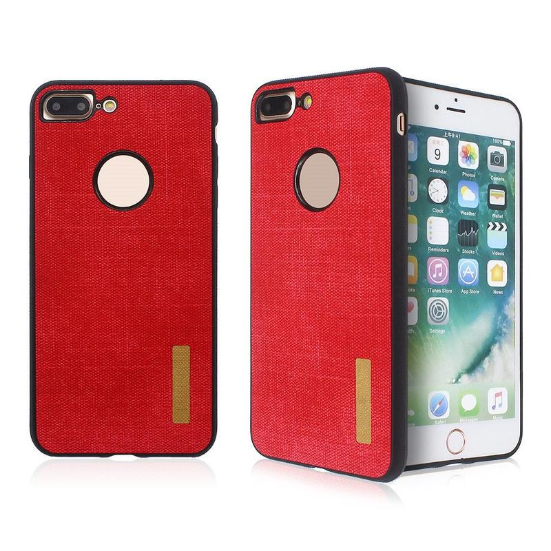 Business Style iPhone 7 Plus TPU Case with Leather