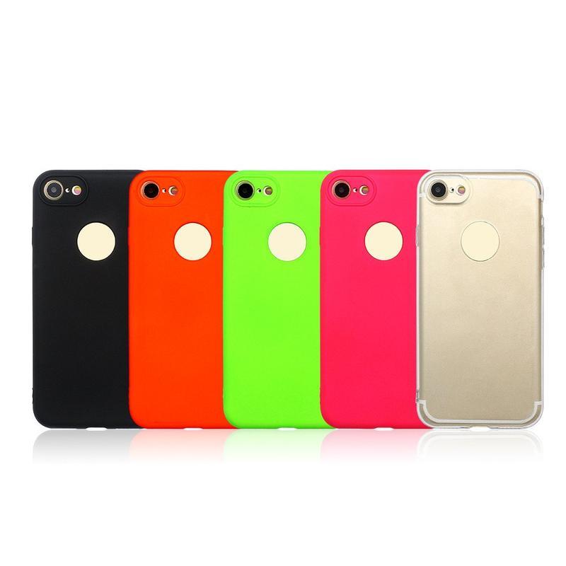 Buena tacto caso de 360 grados de protección para el iPhone 7