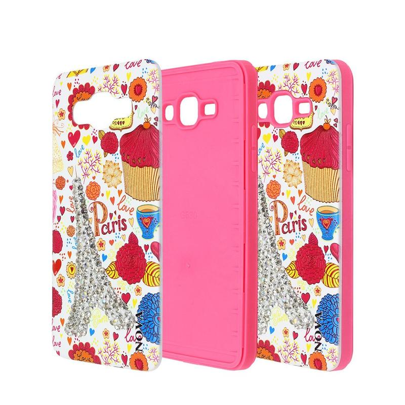 Pretty Samsung G530 Combo Phone Case