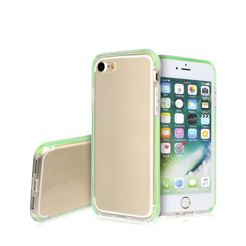 Funda protectora transparente lindo para el iPhone 7