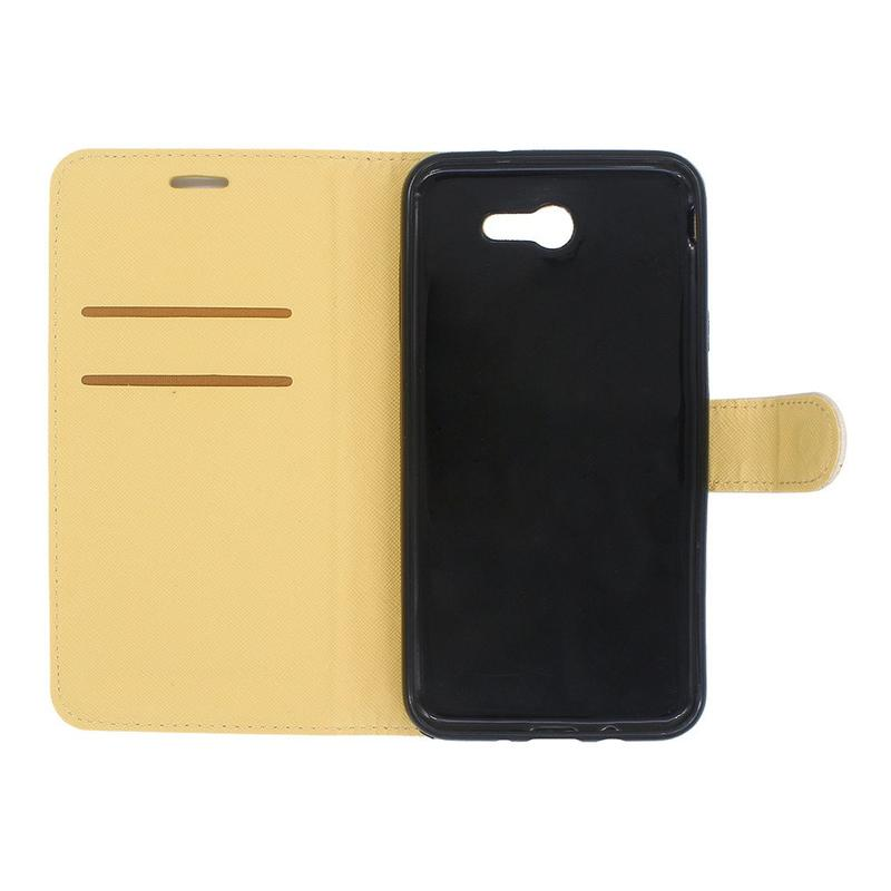 Wallet leather phone case for Samsung J7 2017