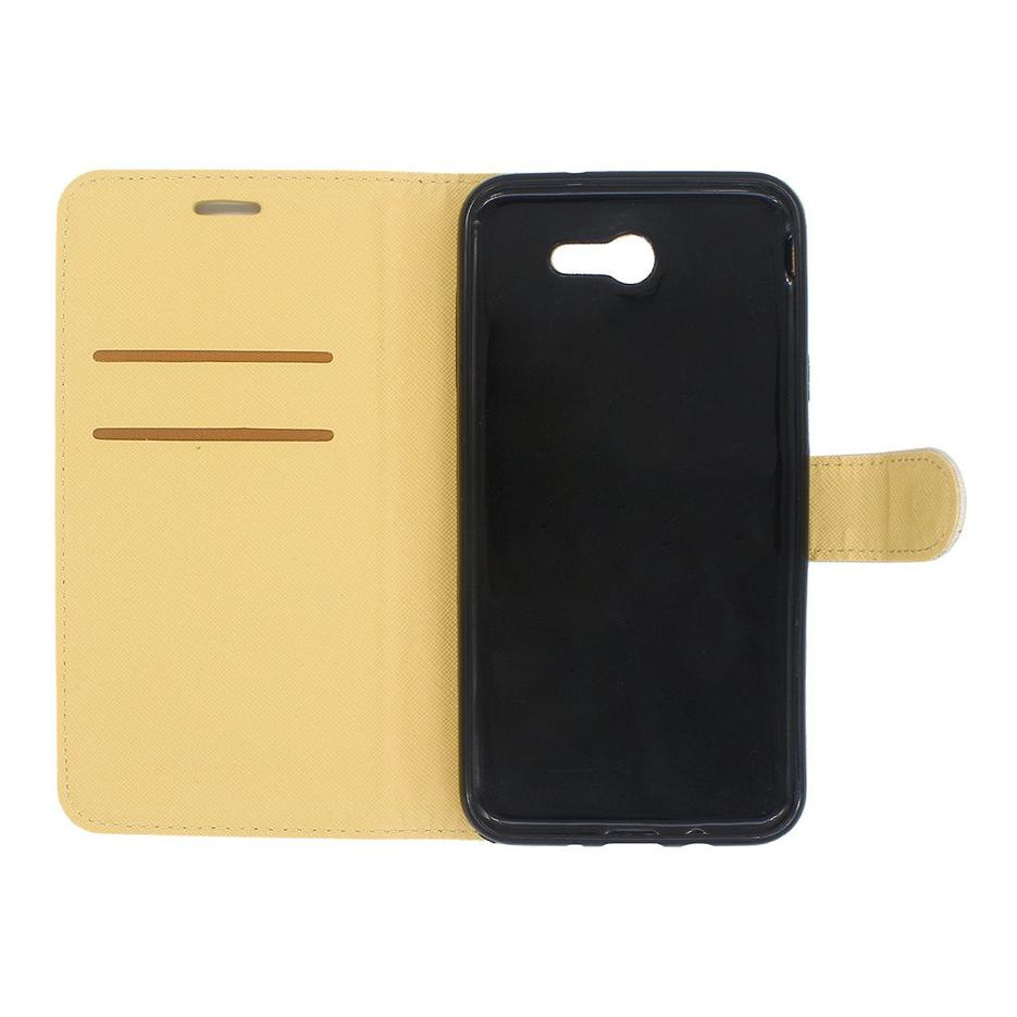 Cartera de cuero caja de teléfono para Samsung J7 2017