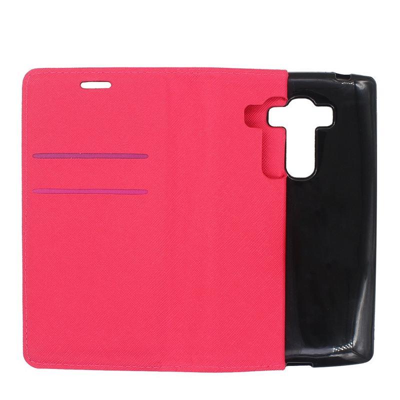 LG G4 Beat Cartera de cuero Funda de teléfono