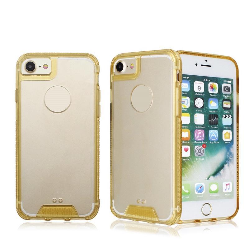 TPU Bumper Clear Acrylic Phone Case for iPhone 7