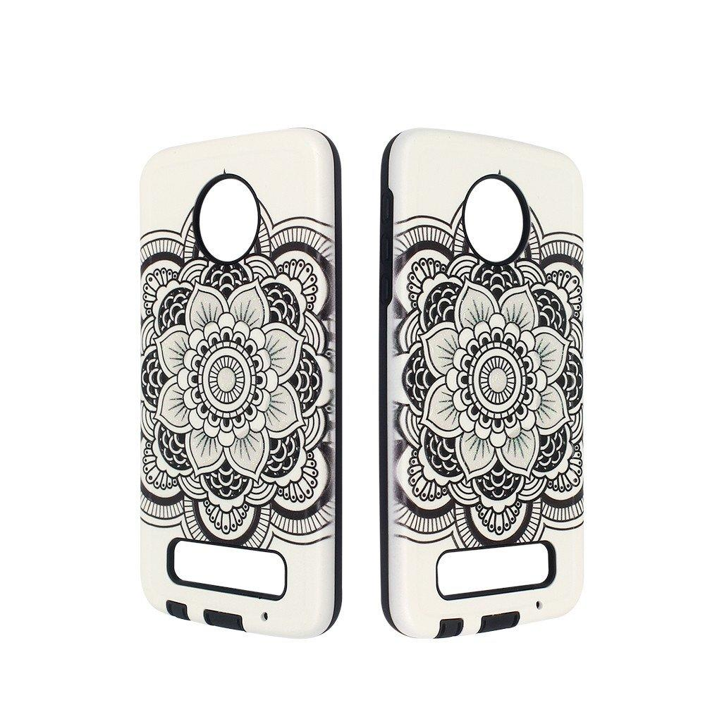 Drop Glue Combo Phone Case for Moto Z Play