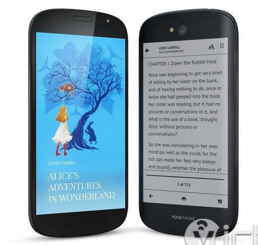 yotaphone - double screen smartphone - yotaphone smartphone - 1