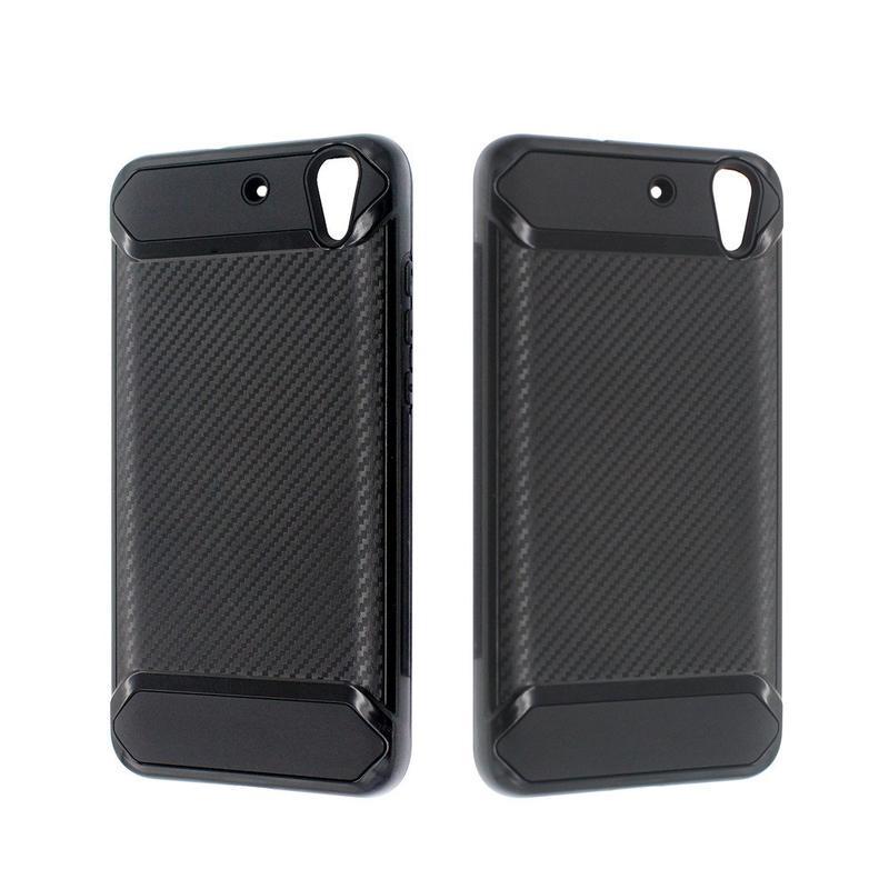 Pretty Cool Fiber Draw Armor Phone Case for Huawei Y6 II