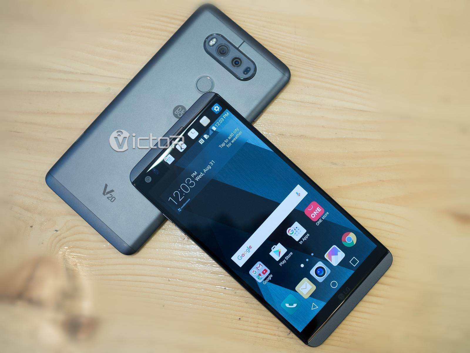 lg v20 - lv v20 samrtphone - smartphones - 1