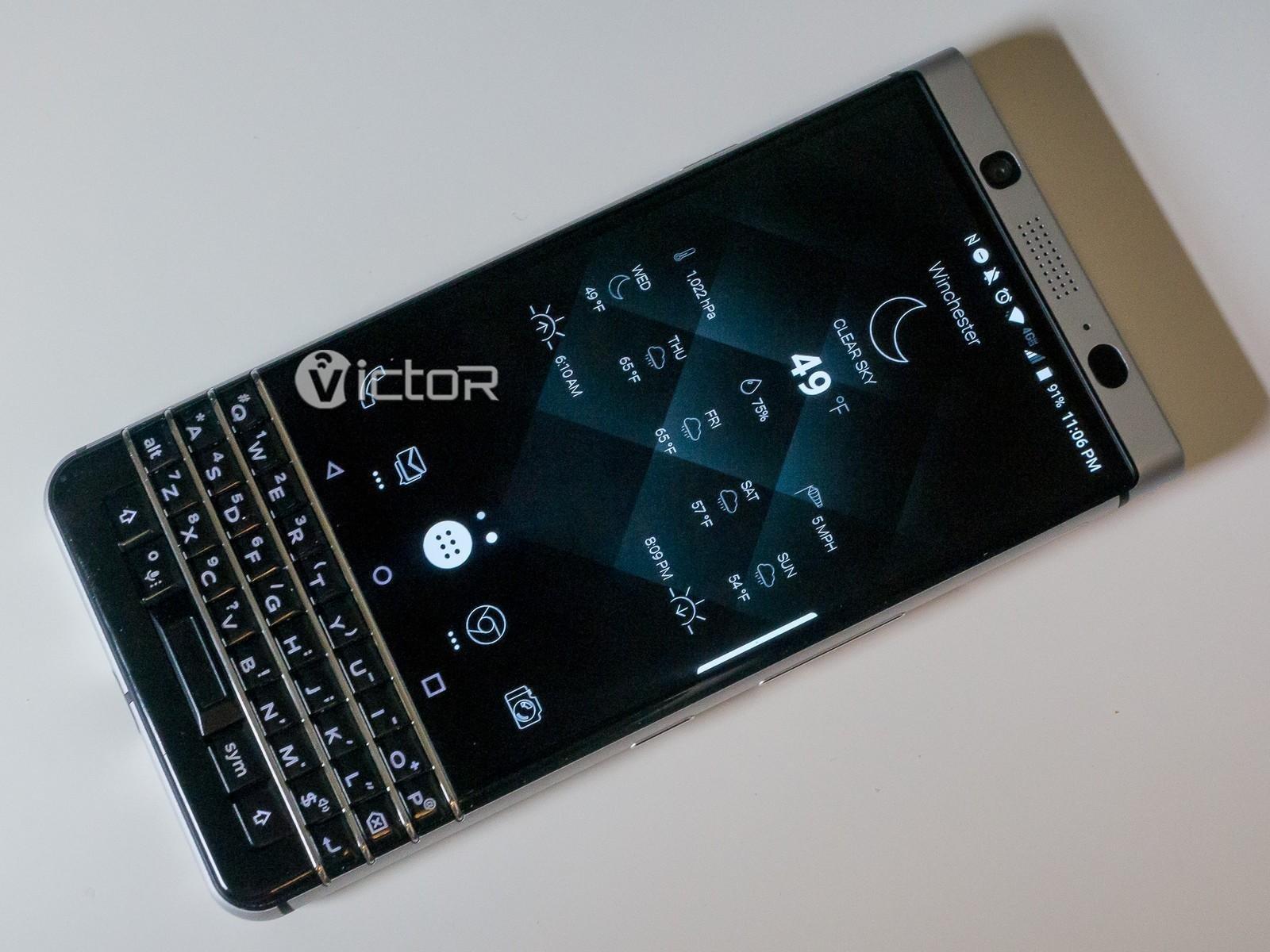 blackberry keyone - blackberry smartphone - keyboard smartphone - 3