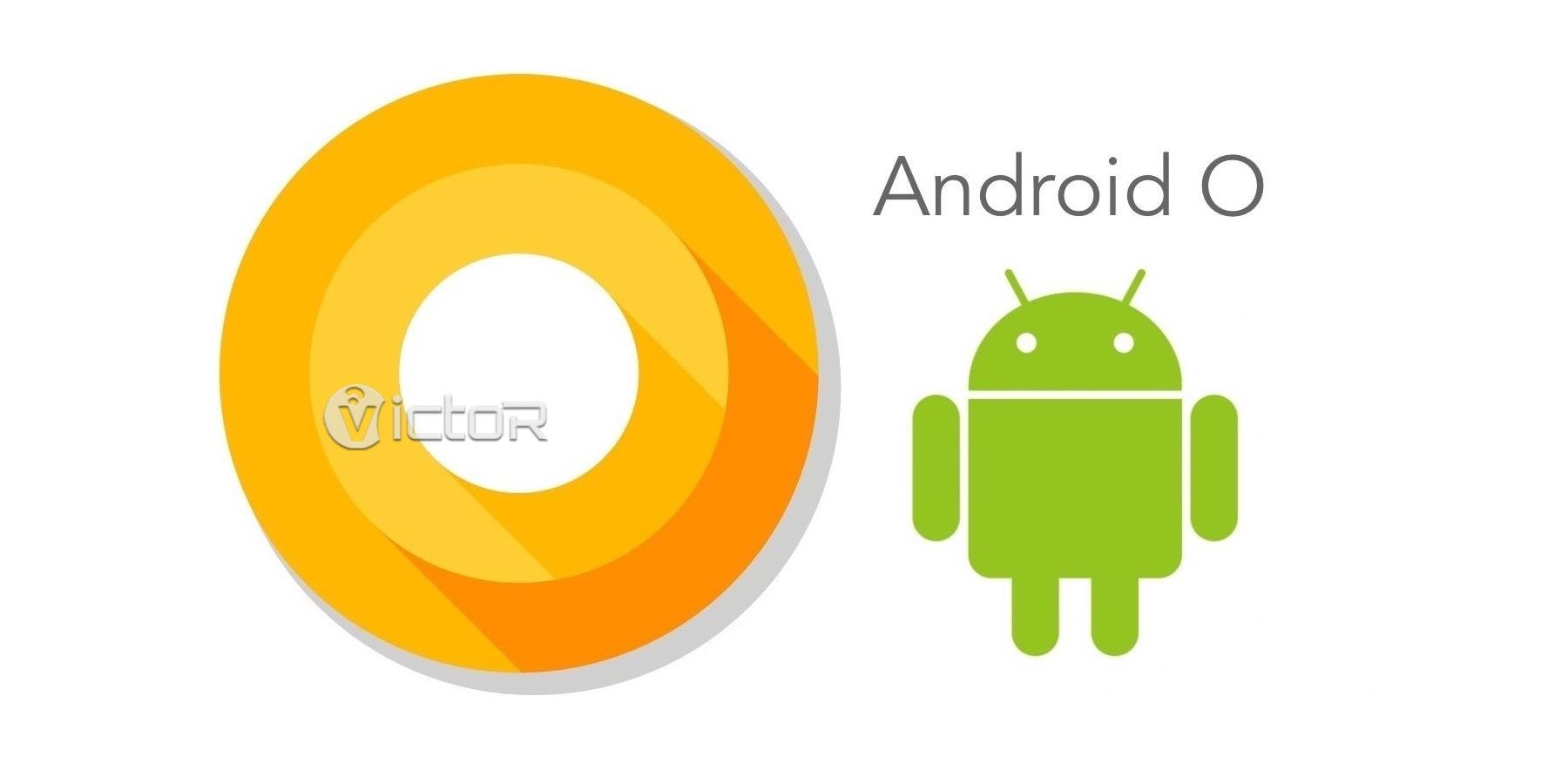 Android O - android logo - new android - 1