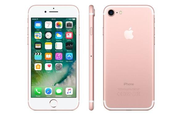 iphone 7 rose gold - metal body smartphone - ios smartphone - 1