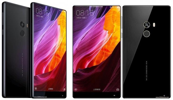 xiaomi mix - ceramic body smartphone - full screen smartphone - 1
