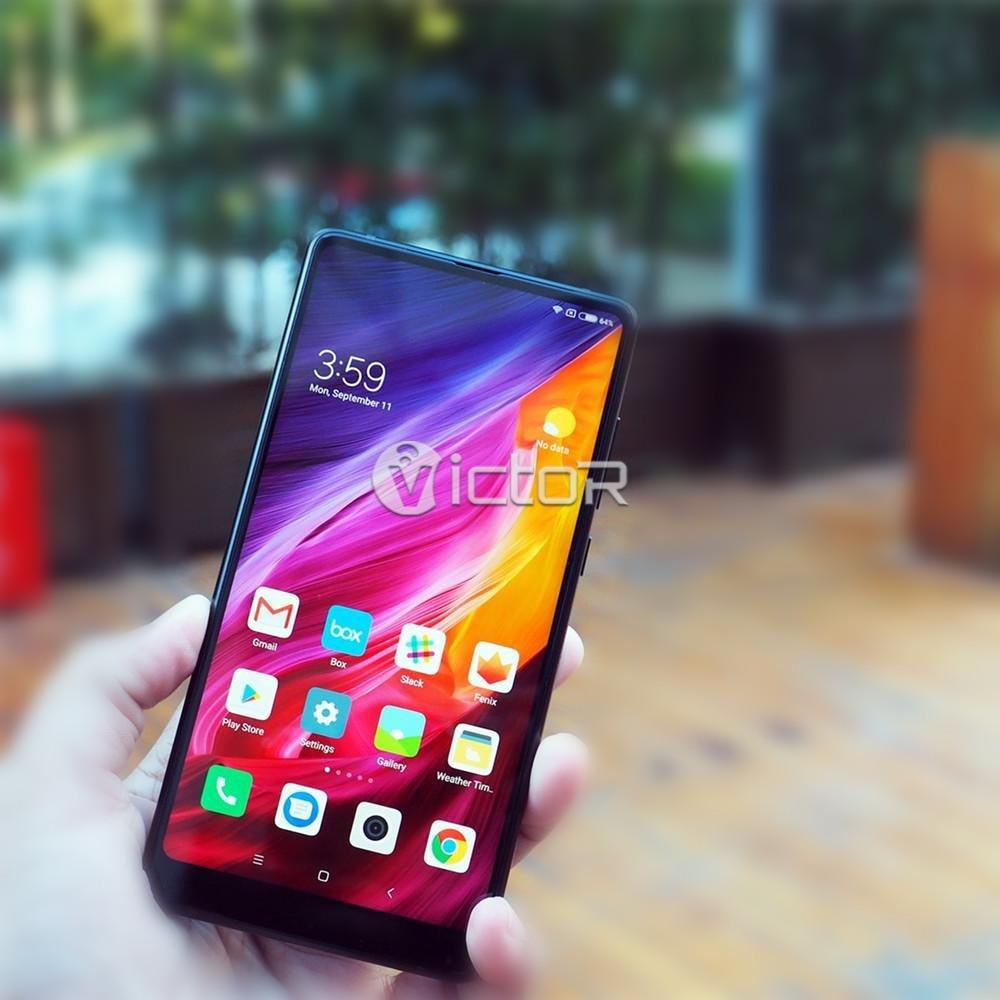 xiaomi mix 2 - edge to edge smartphone - bezel less smartphone - 1