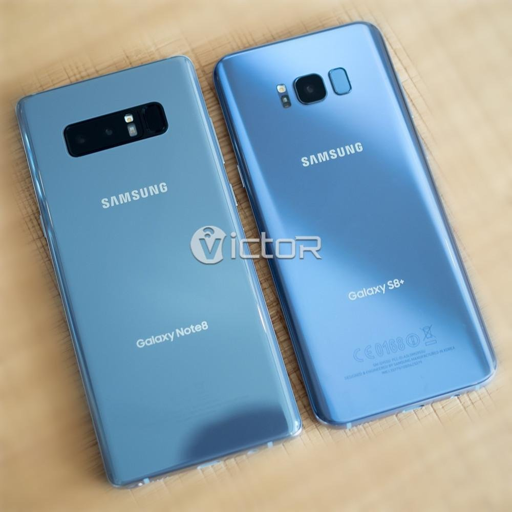 note 8 vs s8 plus - bezel less smartphone - edge to edge smartphone - 1