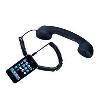 phone accessories - retro phone receiver - useless phone accessory - 1