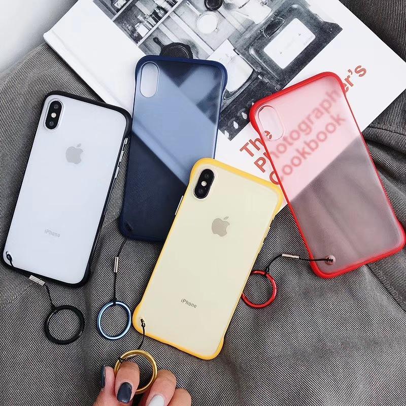 Contraportada transparente clara de la caja ultra fina ligera del teléfono para el iPhone X XS MAX XR